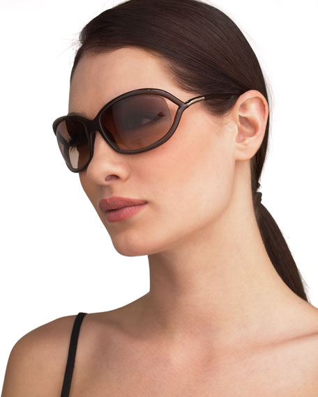Jennifer Sunglasses, Light Brown