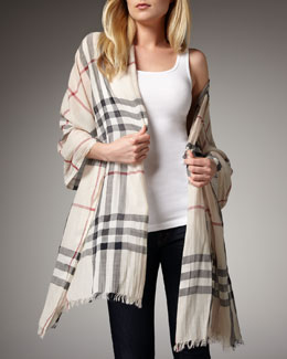 Burberry Trench Check Stole