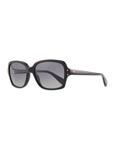 Oliver Peoples Nanny B Sunglasses, Black