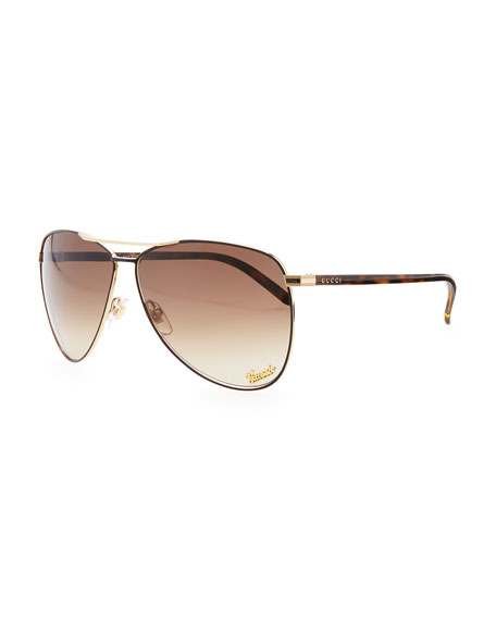 84a1632957 Gucci Aviator Sunglasses With Beef - Bitterroot Public Library