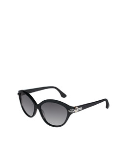 David Yurman Thoroughbred Sunglasses, Black