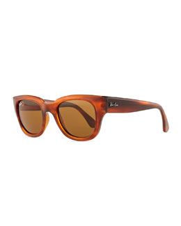 Ray-Ban Cat-Eye Sunglasses, Shiny Havana