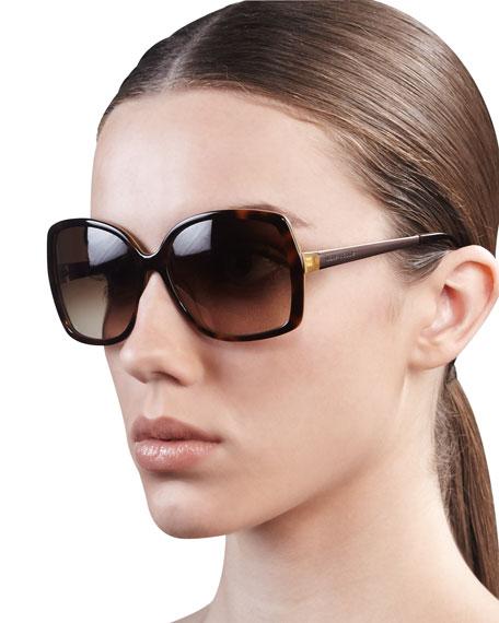 darrys oversize-square sunglasses