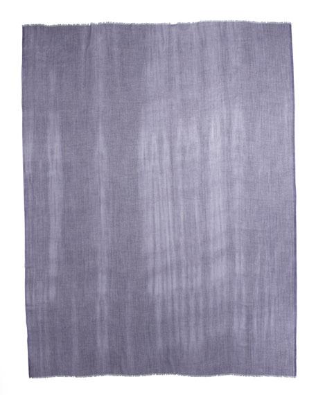 Faded Unique Stole, Bluette