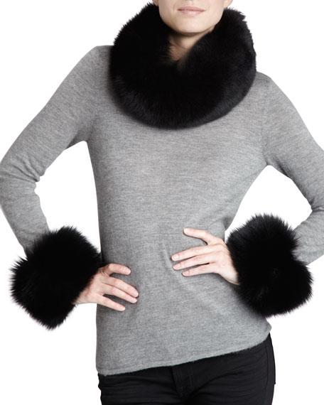 Fox Fur Cuffs