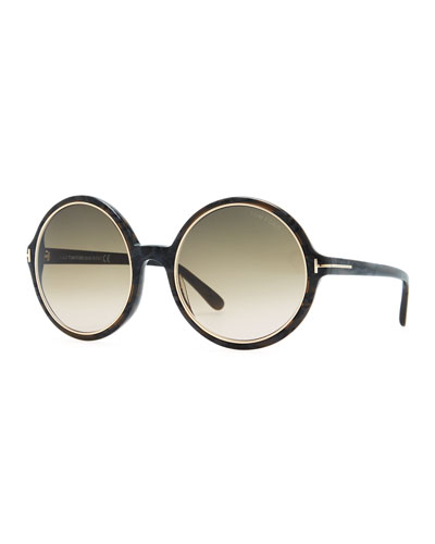 Tom Ford Carrie Oversized Sunglasses