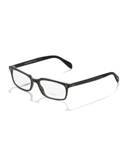 Oliver Peoples Denison Fashion Glasses, Matte Black