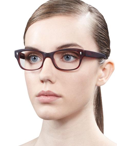 Wacks Fashion Glasses, Red