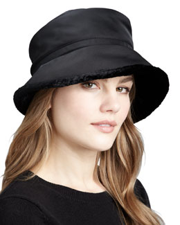 Eric Javits Faux-Fur-Lined Hat