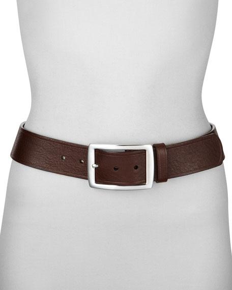 "Leather Belt, 1 3/4"""