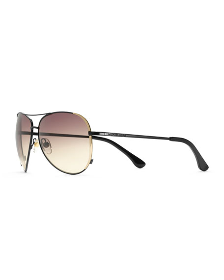 Sicily Metal Aviator Sunglasses