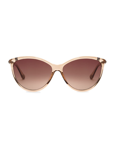 Camila Soft Cat-Eye Sunglasses