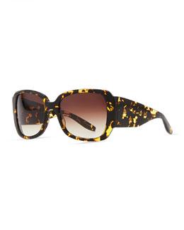 Barton Perreira Vreeland Square Sunglasses, Heroine Chic