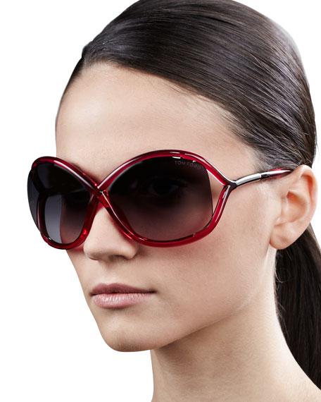 Whitney Bold Sunglasses, Pink