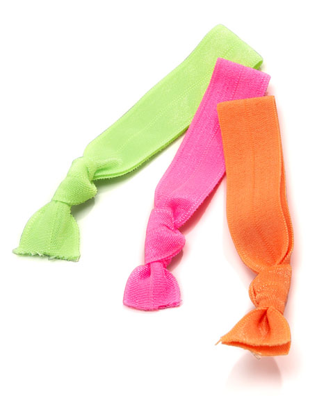 Neon Hair-Tie Set