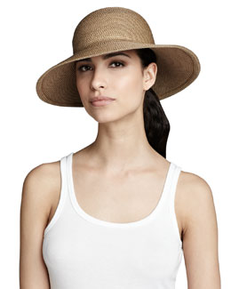 Eric Javits Squishee IV Hat, Natural
