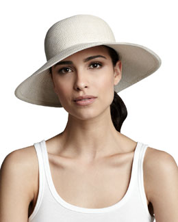 Eric Javits Squishee IV Hat, Cream