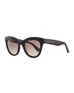 MARC by Marc Jacobs Cat-Eye Sunglasses, Black
