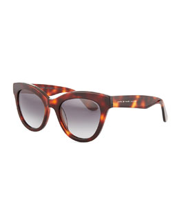 MARC by Marc Jacobs Cat-Eye Sunglasses, Havana