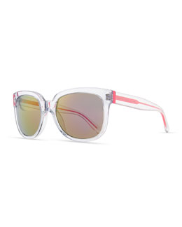 MARC by Marc Jacobs Clear Photochromic Sunglasses, Pink