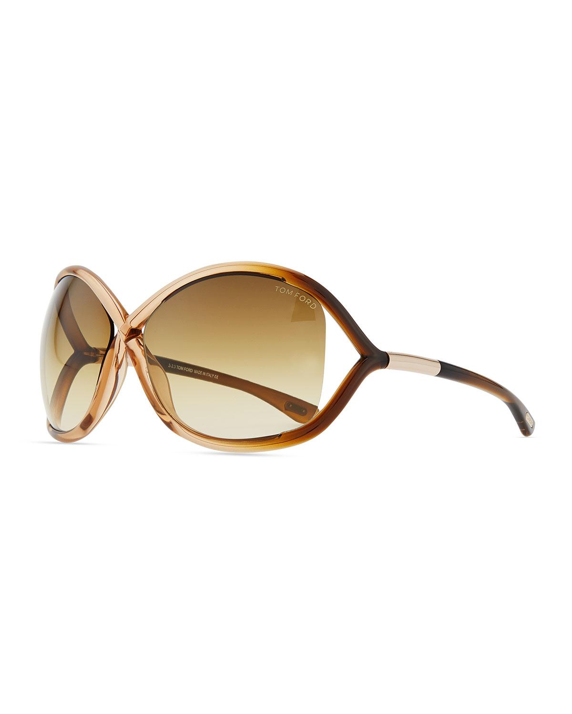 ae47d6398b4dc Quick Look. TOM FORD · Whitney Cross-Bridge Sunglasses ...