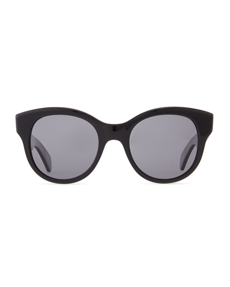 Jacey Polarized 53mm Sunglasses, Black