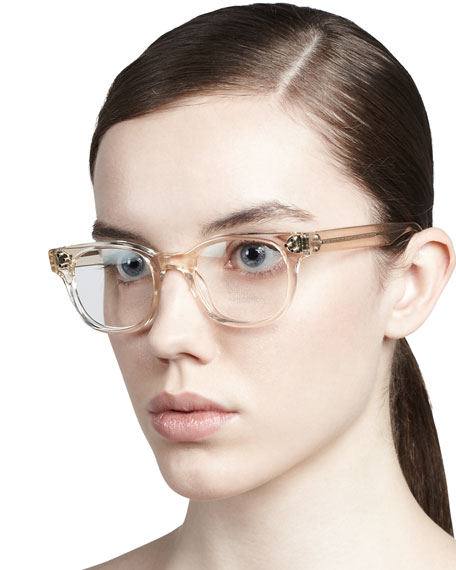 aeadeb5c0a Oliver Peoples Afton Clear Fashion Glasses