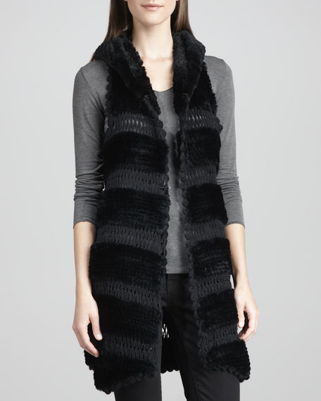 Rex Rabbit Knit Vest