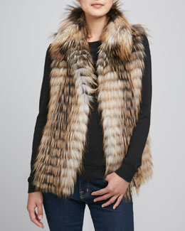 Fox Unlimited Limited Edition Smoky Fox Fur Vest