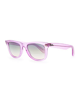 Ray-Ban Ice Pop Sunglasses, Purple