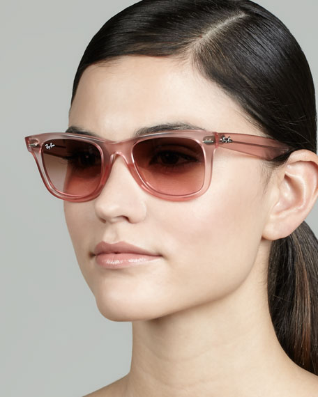 ray ban ice pop  ice pop sunglasses, pink
