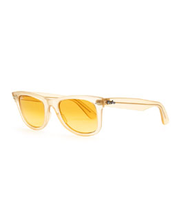 Ray-Ban Ice Pop Sunglasses, Yellow