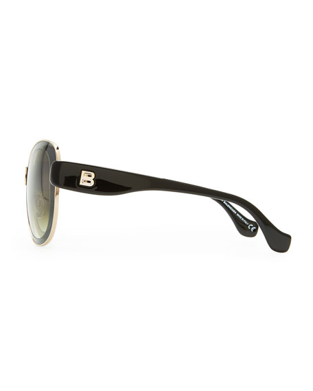 Transparent Framed Sunglasses, Smoke