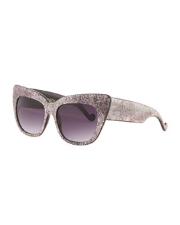 Anna-Karin Karlsson Alice Goes to Cannes Glitter Sunglasses