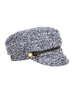 Elyse Tweed Army Hat