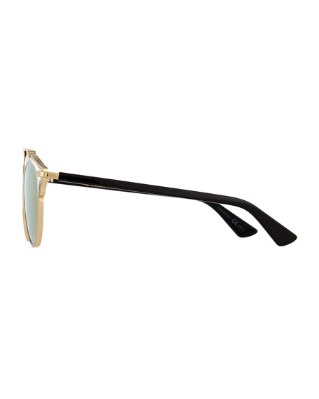 So Real Brow Bar Metal Sunglasses