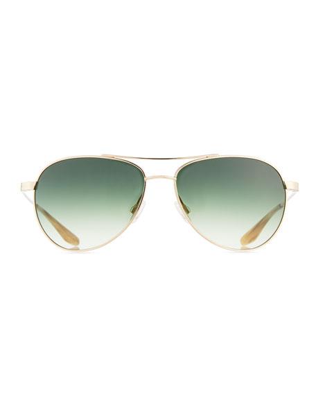 Universal Fit Lovitt Mirror Aviator Sunglasses