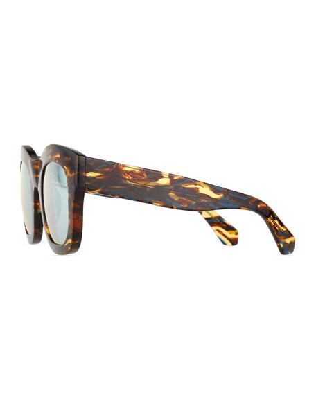 Hamilton Mirror Sunglasses, Forest