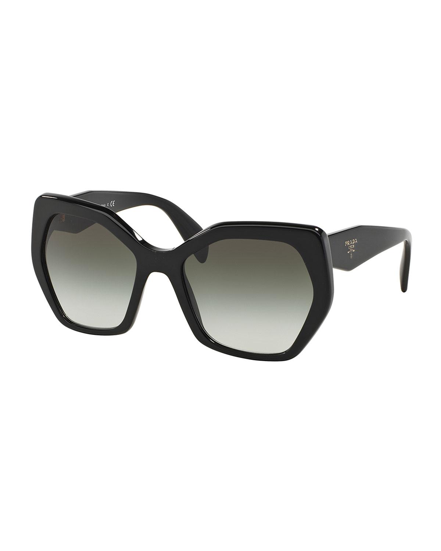 2814759abb32 Prada Heritage Hexagonal Sunglasses