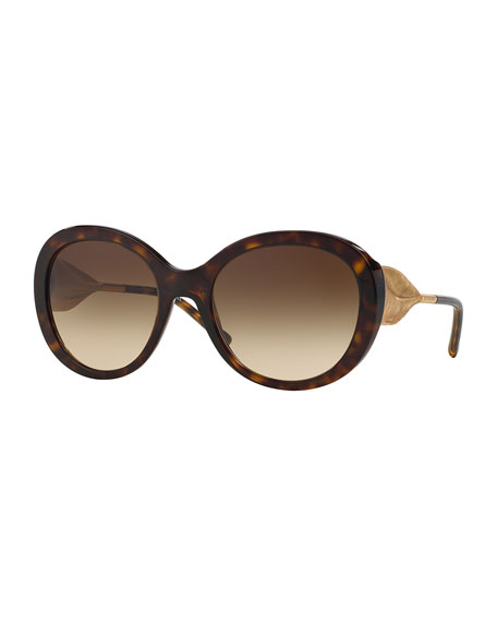6a42af4bdfd1 Burberry Trench-Knot Sunglasses