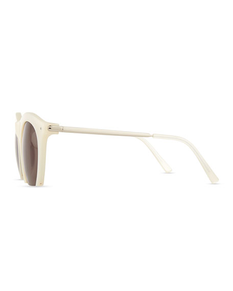Foundry Cutoff Sunglasses, Pearl