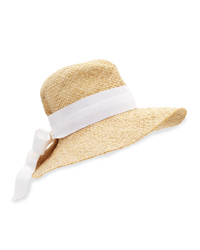 First Aid Ribbon-Trimmed Sun Hat