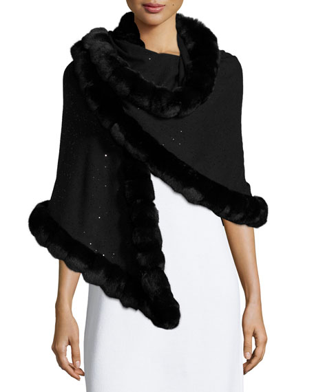 Ginia Cashmere Gowns Wrap Gown: Designer Wraps & Stoles At Neiman Marcus