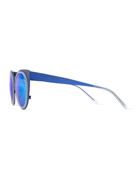 Angel Light Flared-Temple Sunglasses