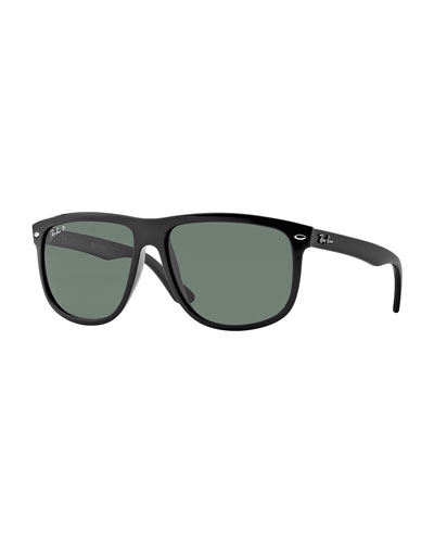 Oversize Wayfarer Polarized Sunglasses