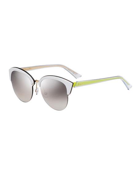 Run Capped Cat-Eye Sunglasses