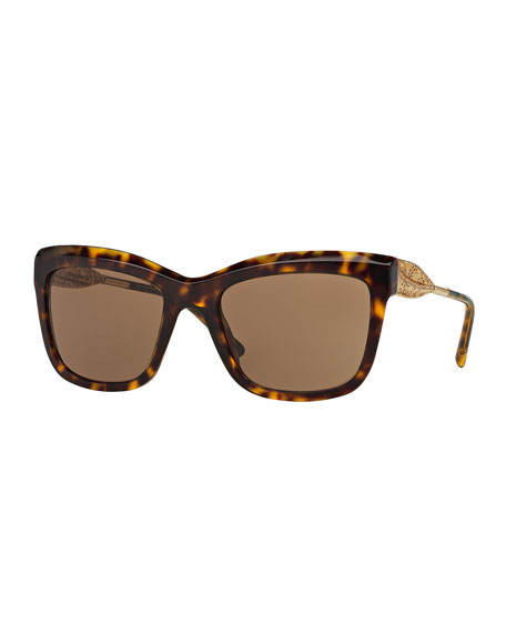 Cat-Eye Lace Sunglasses