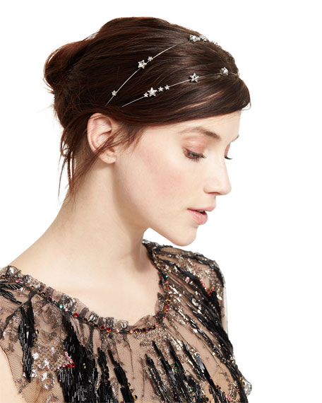 Jennifer Behr Ursa Major Circlet Swarovski® Crystal Headband