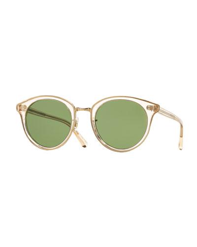 Spelman Round Sunglasses