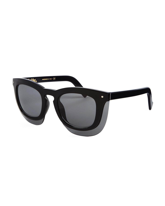 2cf213457ad Grey Ant Inbox Oversize Square Sunglasses